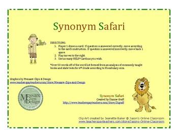 Synonym Safari