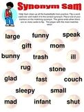 Synonym Sam - A Synonym Matching Game