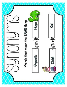 Synonym Scoot - Word Meaning Game