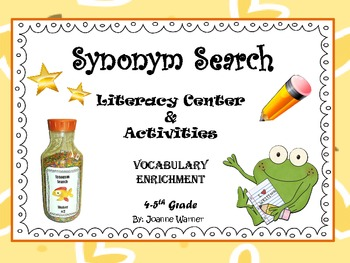 Synonym Search Challenge