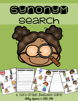 Synonym Search: A Thesaurus Game