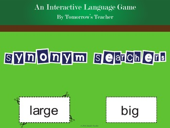 Synonym Searchers - An Interactive Language Game