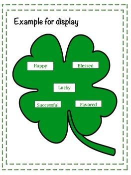 Shamrock Synonyms (St. Patrick's Day)