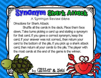 Synonym Shark Attack