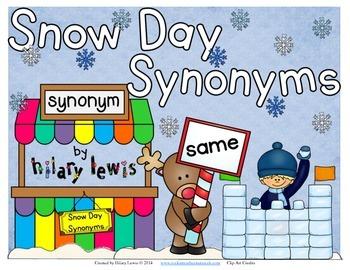 Synonym Snow Day