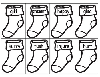 Synonym Sock Sort
