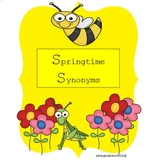 Synonym Sort - Springtime Synonyms