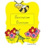 Synonym Sort - Springtime Synonyms
