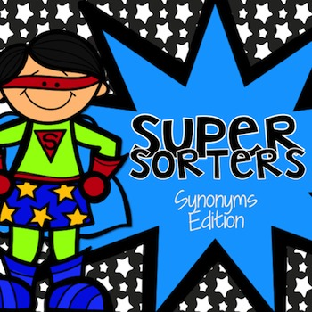 Synonym Sorters: Word Cards for Matching Synonyms