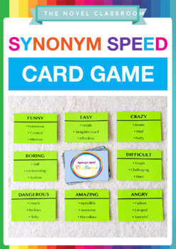 Synonym Speed Challenge Game