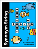 Synonym String: 101 Vocabulary Word Puzzles
