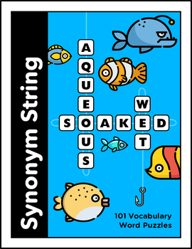 Synonym String (100 Word Puzzles)