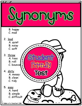 Synonym Test