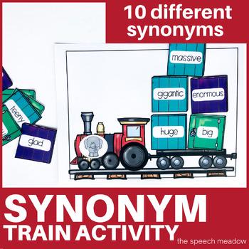 Synonym Train Receptive Language Activity