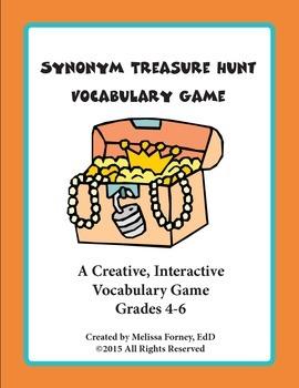 Synonyms Grades 4 - 6