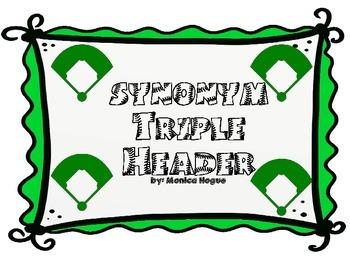 Synonym Triple Header