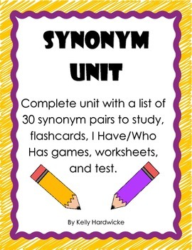 Synonym Unit