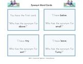 Synonym Word Cards Gr.1-3