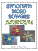 Synonym Word Flowers: an alternative to a traditional word wall