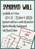 Synonym (Word) Wall