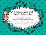 Synonym Word Wall - Ocean Theme