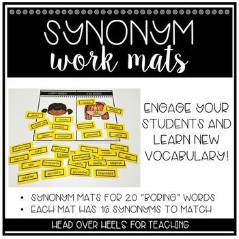 Synonym Work Mats