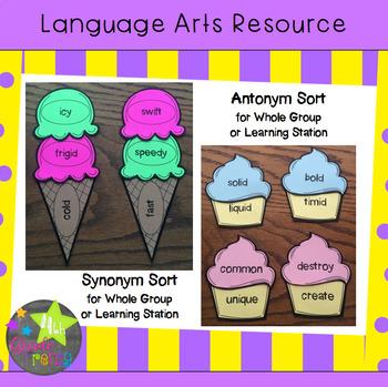 Synonym and Antonym Activities