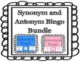 Synonym and Antonym Bingo Bundle