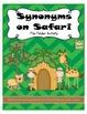 Synonym and Antonym Bundle File Folder Activities (CC Aligned)