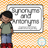 Synonym and Antonym Centers All Year Long