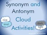 Synonym and Antonym Clouds!