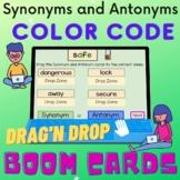 Synonym and Antonym Color Code Interactive Digital Boom Ca