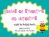 Synonym and Antonym Flowers Craftivity