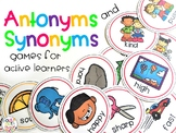 Synonym and Antonym Games