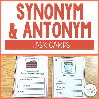 Synonym and Antonym Grammar Boards