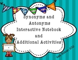 Synonym and Antonym Interactive Notebook
