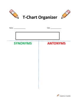 Synonym and Antonym Lesson Plan