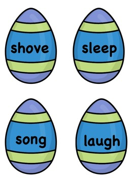 Synonym and Antonym Match Activities - Easter Eggs