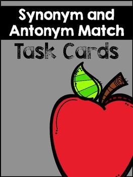 Synonym and Antonym Matching