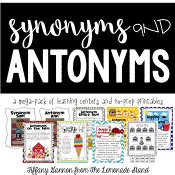 Synonym and Antonym Mega Pack