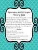 Synonym and Antonym Memory Game