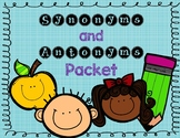 Synonym and Antonym Packet