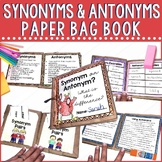 Synonym and Antonym Paper Bag Book