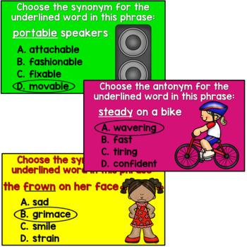 Synonym and Antonym PowerPoint (Advanced)