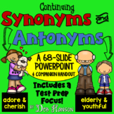 Synonym and Antonym PowerPoint (Advanced)