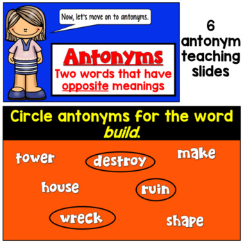Synonym and Antonym PowerPoint (Introduction)