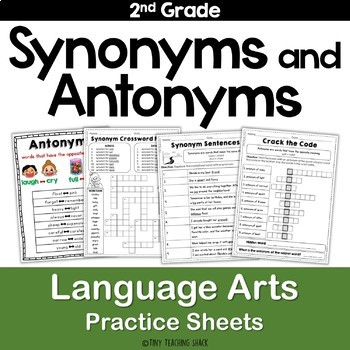 Synonym and Antonym Practice Sheets L.2