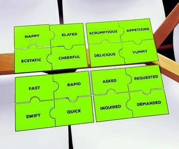 Synonym and Antonym Puzzle Pack