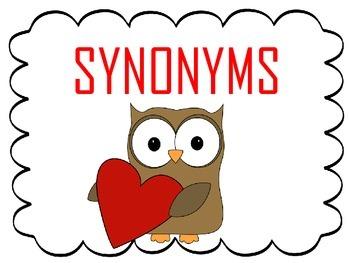 Synonym and Antonym Sort - Valentine's Day