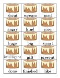Synonym and Antonym Sort and Match Cards